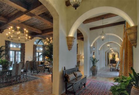 spanish homes interiors love the lighted arches ditto really cool especially