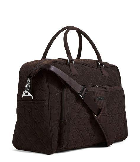 Quilted Weekender Bag by Vera Bradley Quilted Weekender Travel Bag In Brown Lyst