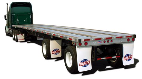 flat bed trailers utility introduces new 4000a flatbed