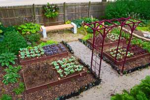 vegetable garden designs home decorators collection - Designing A Vegetable Garden