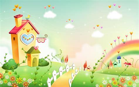 imagenes infantiles 4k fondos de pantalla de dibujos animados fantas 237 a paisajes