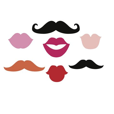 free printable moustache and lips photo booth props beaoriginal blog