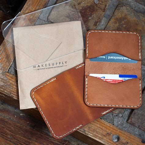 Folded Wallet Card Template by Bundle Leather Minimalist Wallet Template Folded Card