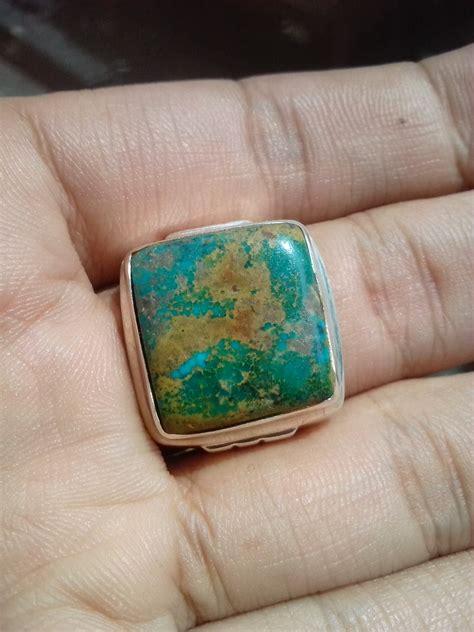Pirus Jala Emas cincin perak batu pirus terjual jualbatupirus