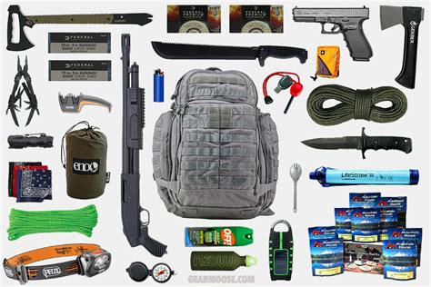 53 essential bug out bag supplies how to build a suburban go bag you can rely upon books bug out bag gearmoose
