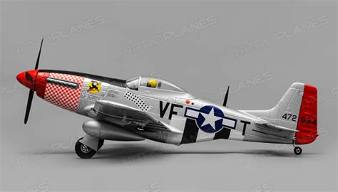 airfield p51 rc 4 channel warbird kit 800mm wingspan