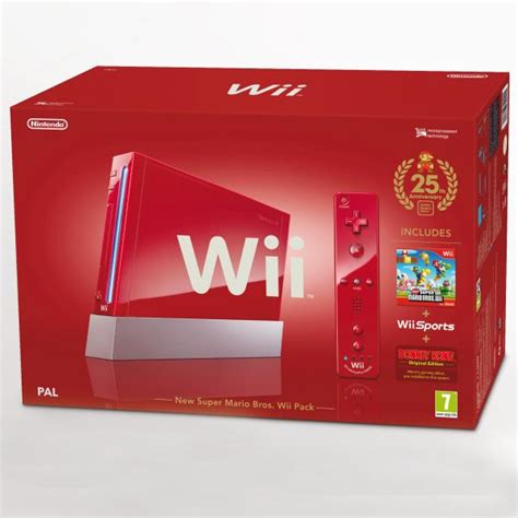 new wii console new mario bros nintendo wii pack bundle