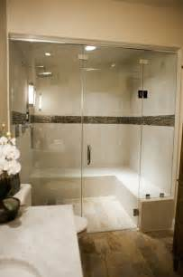 Steam Shower Bathroom Steam Shower Contemporary Bathroom Dc Metro By Collins Tile And