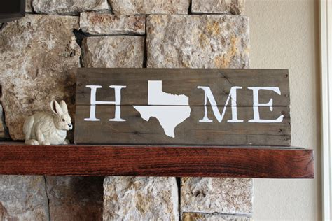 state of texas home decor texas home sign reclaimed wood sign tx sign texas artwork
