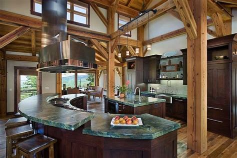 a frame kitchen ideas timber frame home