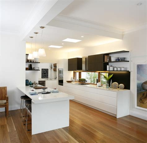 Houzz Kitchens With Islands it s big and very sleek modern kitchen sydney by