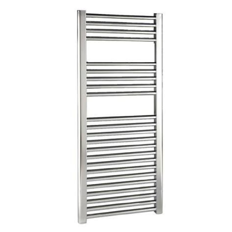 chrome banister rails buy reina flat chrome towel rails 300mm wide online