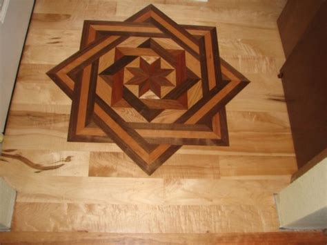 Decorative Inlays by Decorative Hardwood Floor Medallions Milwaukee