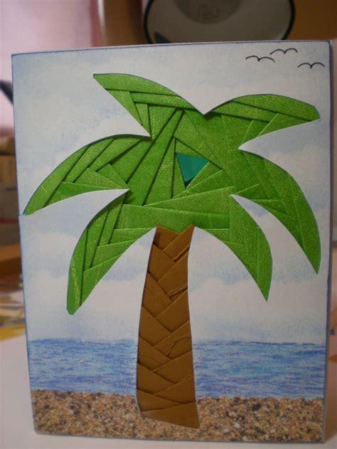 iris folding tree palm tree iris folding cards with or tropical