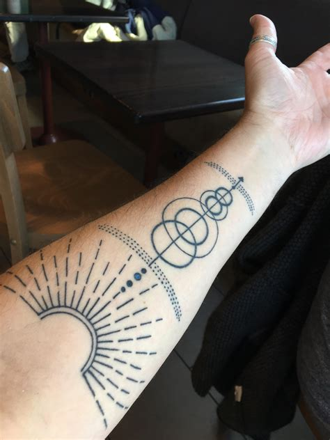 solar system tattoo collection of 25 solar system