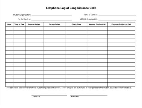 Call Log Sheets Images Download Cv Letter And Format Sle Letter Receptionist Call Log Template