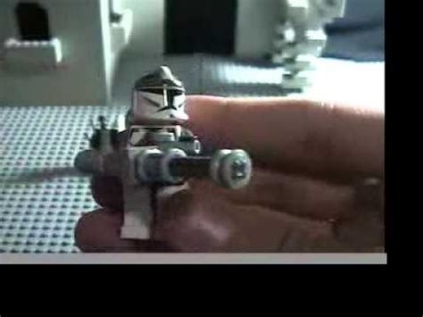 tutorial lego pistol lego star wars custom weapons tutorial youtube