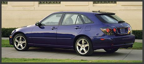 lexus hatchback is300 lexus is 300 sportcross saab or aztek