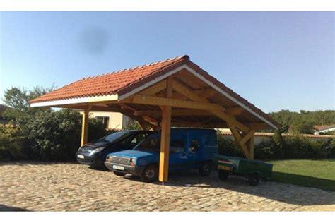 Carport Mit Dachziegeln 2523 by Carport Avranche Asym 233 Trique 38 1m 178 Couvert