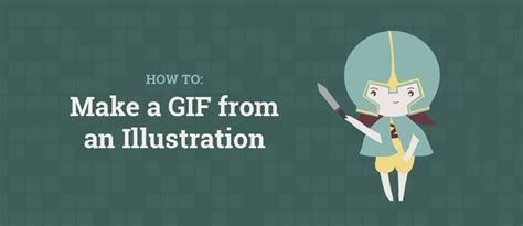 how to make a design tutorial how to make a gif from an illustration