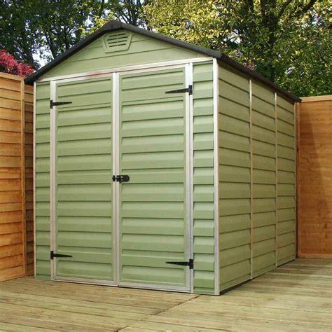 shedswarehousecom oxford plastic sheds installed ft