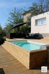 piscine hors sol bois les plus belles piscines hors sol visitedeco