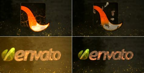 fire logo reveal after effects template videohive 6919104 after effects project