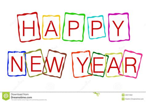 happy new year stock illustration illustration of