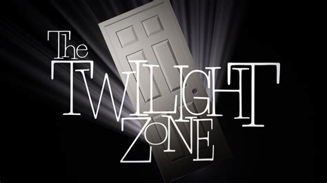 the twilight zone door logo by timcreed on deviantart