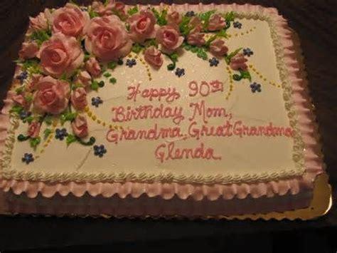glenda s 90th birthday cake birthday