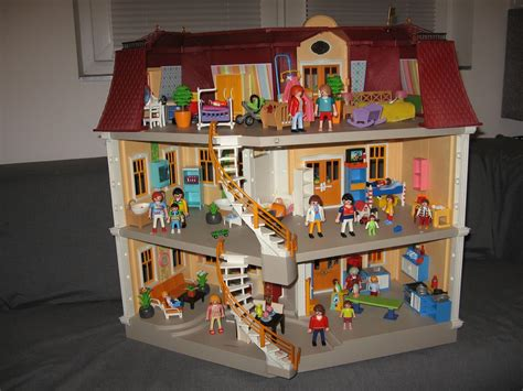 haus playmobil gebraucht playmobil haus villa 5302 puppenhaus m 246 bel in