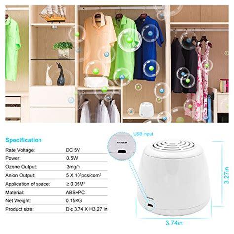 Air Purifier Mobil Ionic Ozone Wsta Portable Ozone Generator Purifier Air Ionizer Cleaner Ionic Air Purifier Refrigerator Shoe
