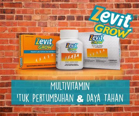 Suplemen Zevit Grow distributor jual obat peninggi badan tiens termurah