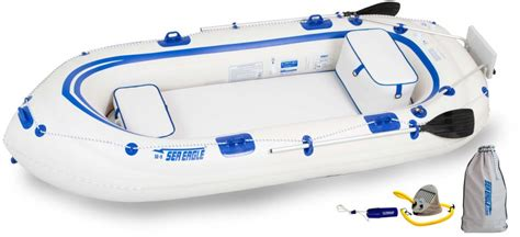 aqua marina classic advanced fishing boat with electric motor t18 std sea eagle se9 4 person inflatable boat package prices