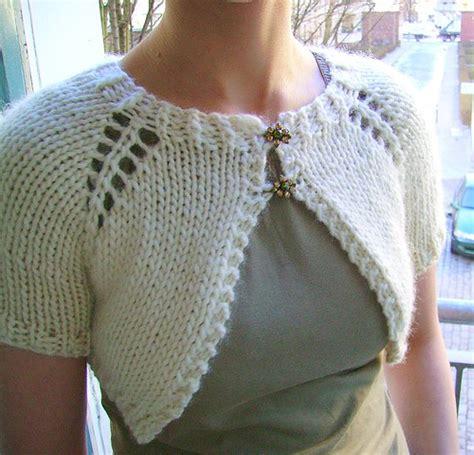 free shrug knitting patterns easy easy shrug knitting patterns in the loop knitting