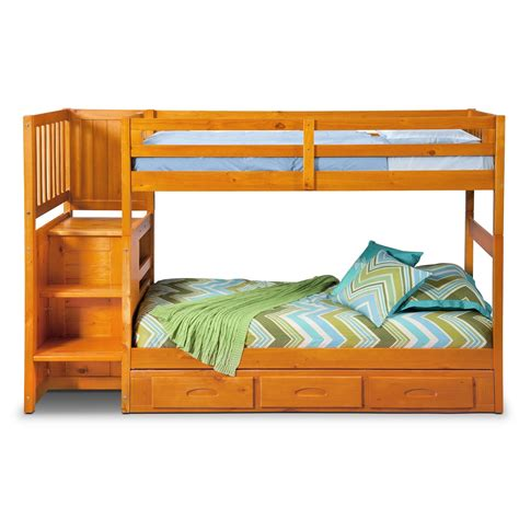 twin loft bed with storage ranger twin over twin bunk bed with storage stairs