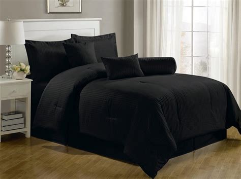 black bed comforter sets black bedding sets and more ease bedding with style