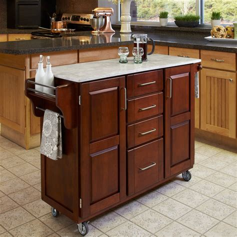 Movable Kitchen Island Portable Kitchen Islands On Medium Maple Cutting Board