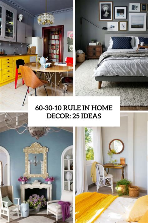 rule  home decor  ideas digsdigs