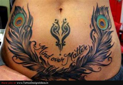 tribal peacock tattoo designs 25 unique lower stomach tattoos ideas on
