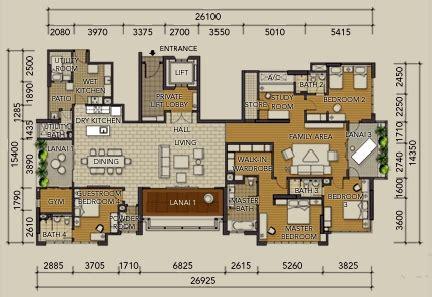 10 mont kiara floor plan tiffani i zen mont kiara condominium for rent or sale