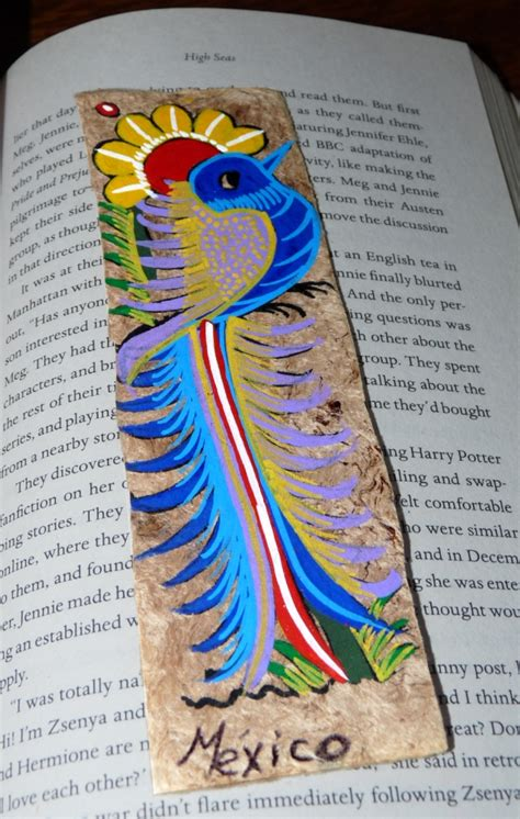 Handcrafted Bookmarks - handmade bookmarks from m 233 xico collects