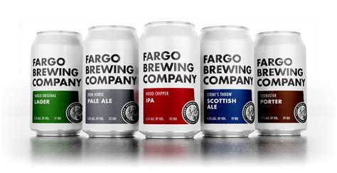 trevor hill design fargo fargo brewing announces new branding and packaging debuts