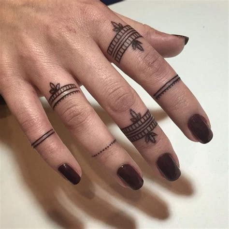 tattooed fingernails facts about finger tattoos designs and tattoos with