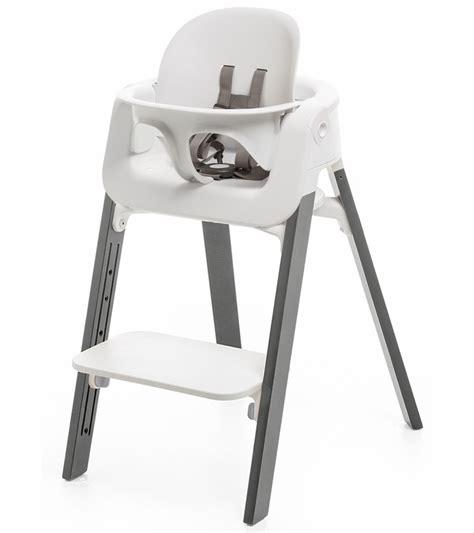 stokke steps high chair tray stokke steps high chair white grey