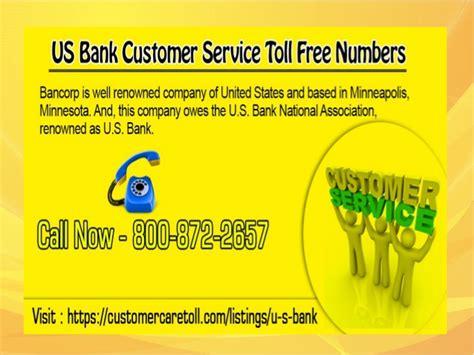 us bank banking customer service us bank customer service toll free