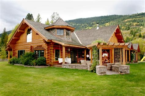 Handcrafted Log Home - handcrafted log homes 187 caribou creek