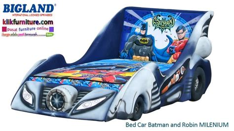 Bigland Batman And Robin Bed 100 X 200 Fullset bed car batman comic bigland springbed agen termurah