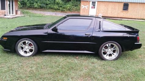 chrysler conquest yellow chrysler other coupe 1989 black for sale