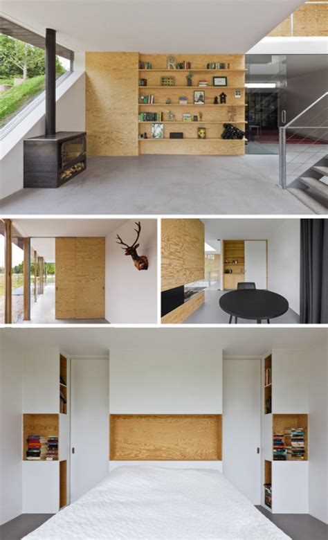 Plywood Interior Design by Plywood Accents Show Potential Of Undervalued Material